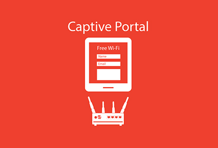captive portal router