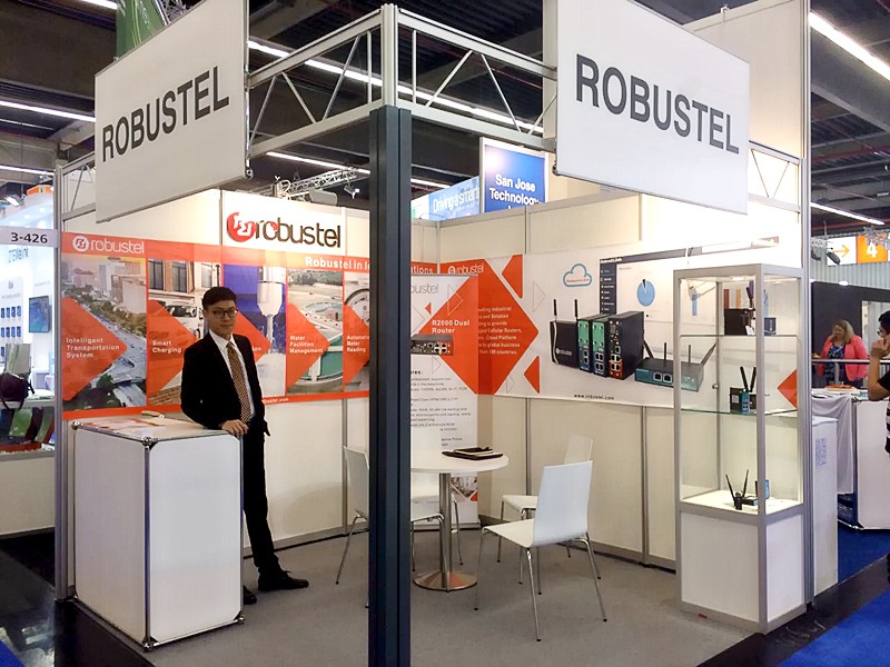 robustel showcases