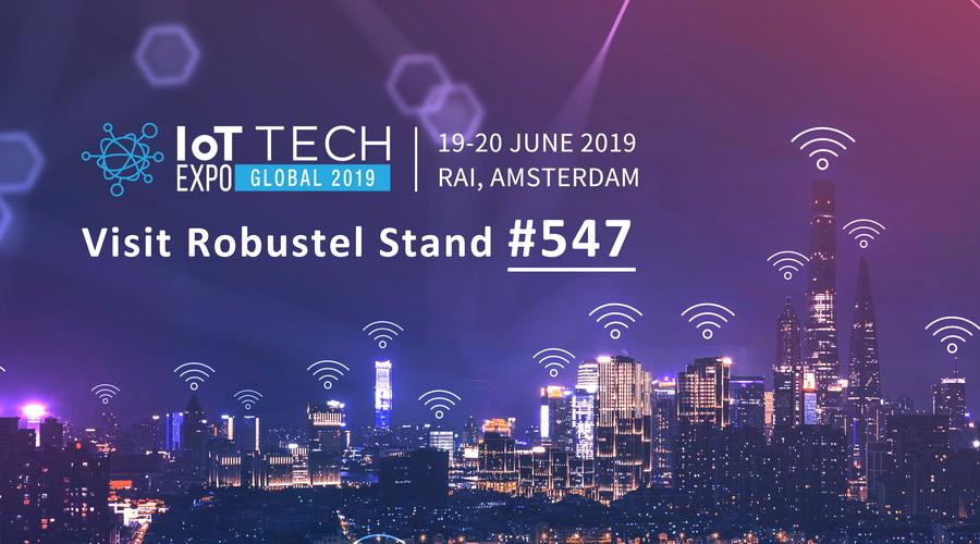 IoT Tech Expo 2019 banner