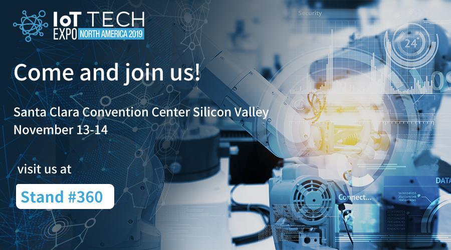 IoT Tech Expo Santa Clara 2019 banner