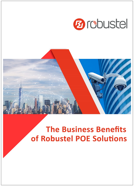 Business Benefits of Robustel POE Solutions cover framed