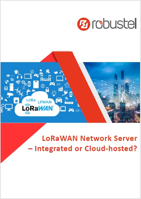 cover of LoRaWAN Network Server – Integrated or Cloud-hosted