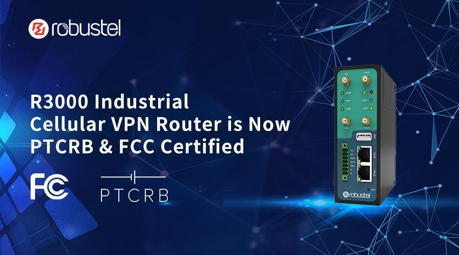 R3000 PTCRB FCC banner