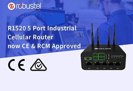 R1520 CE RCM certified