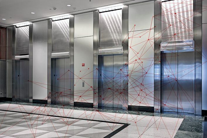 Connected Elevators Lifts