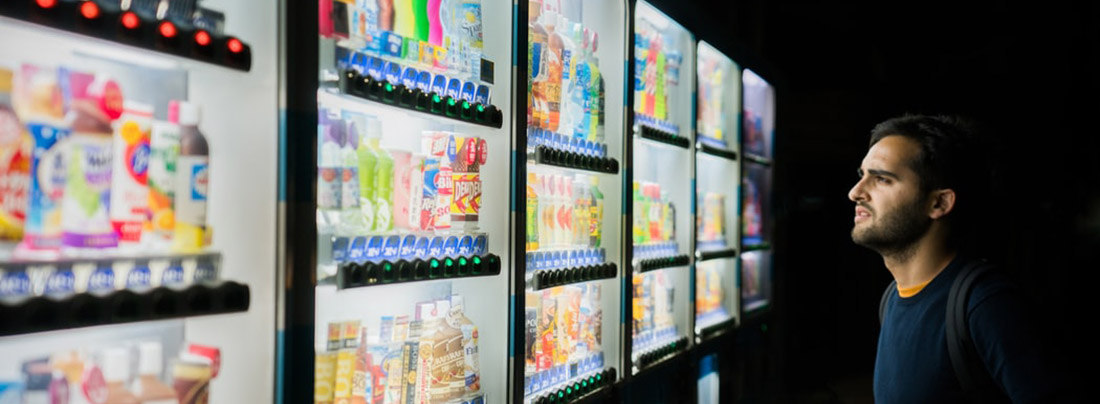 even vending machines can use the IoT to improve service